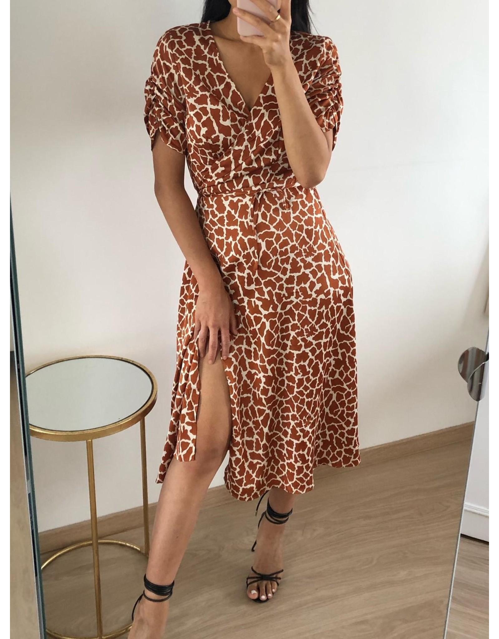 Eight Paris Mois Dress Camel