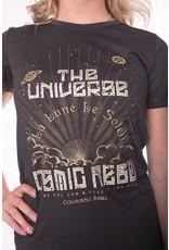 Colourful Rebel Cosmic Rebel Tee Pirate Black