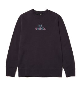 HUF Woz Crewneck - French Navy