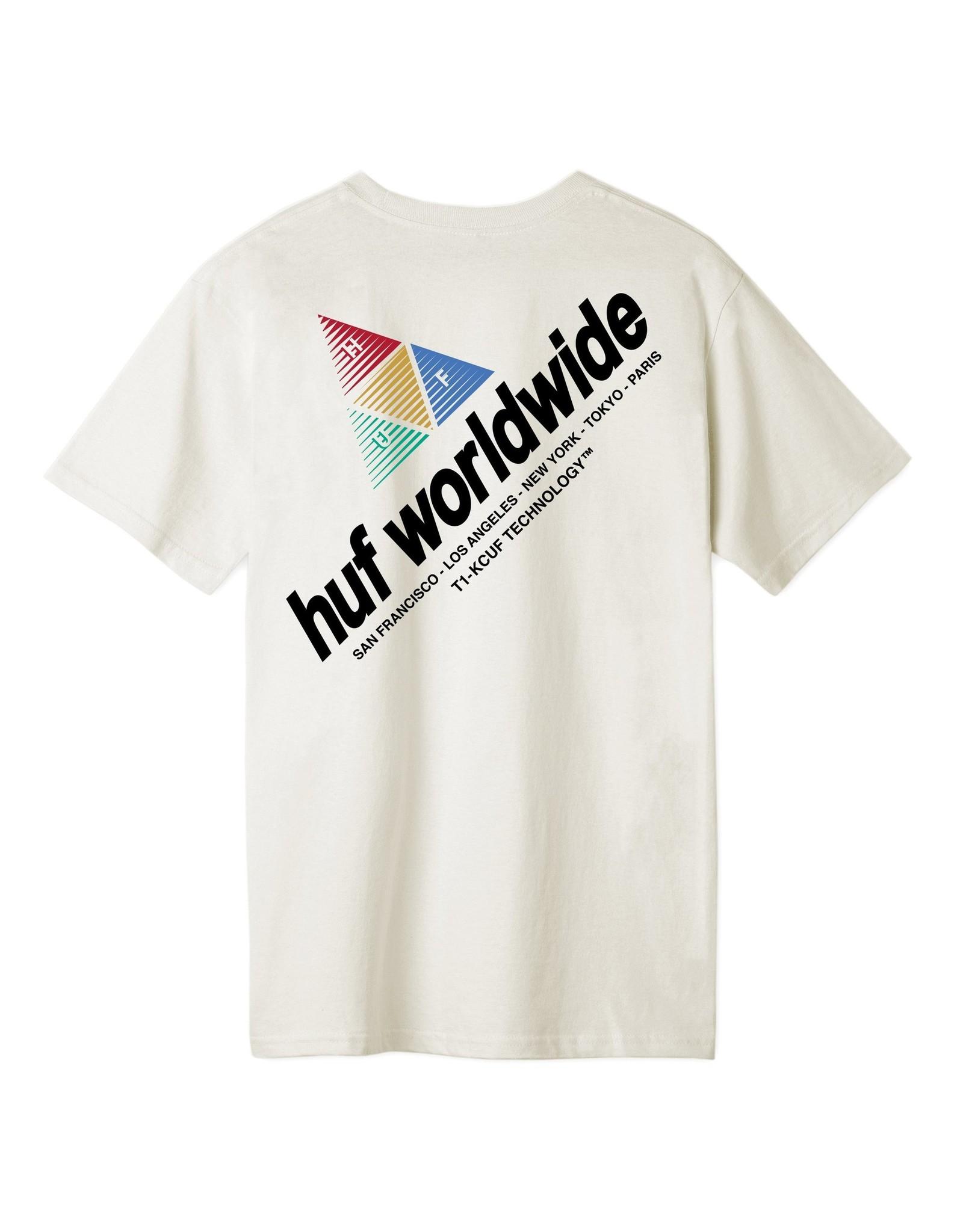 HUF Peak Sportif S/S Tee Unbleached