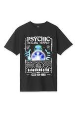 HUF Psychic Temple  S/S Tee Black
