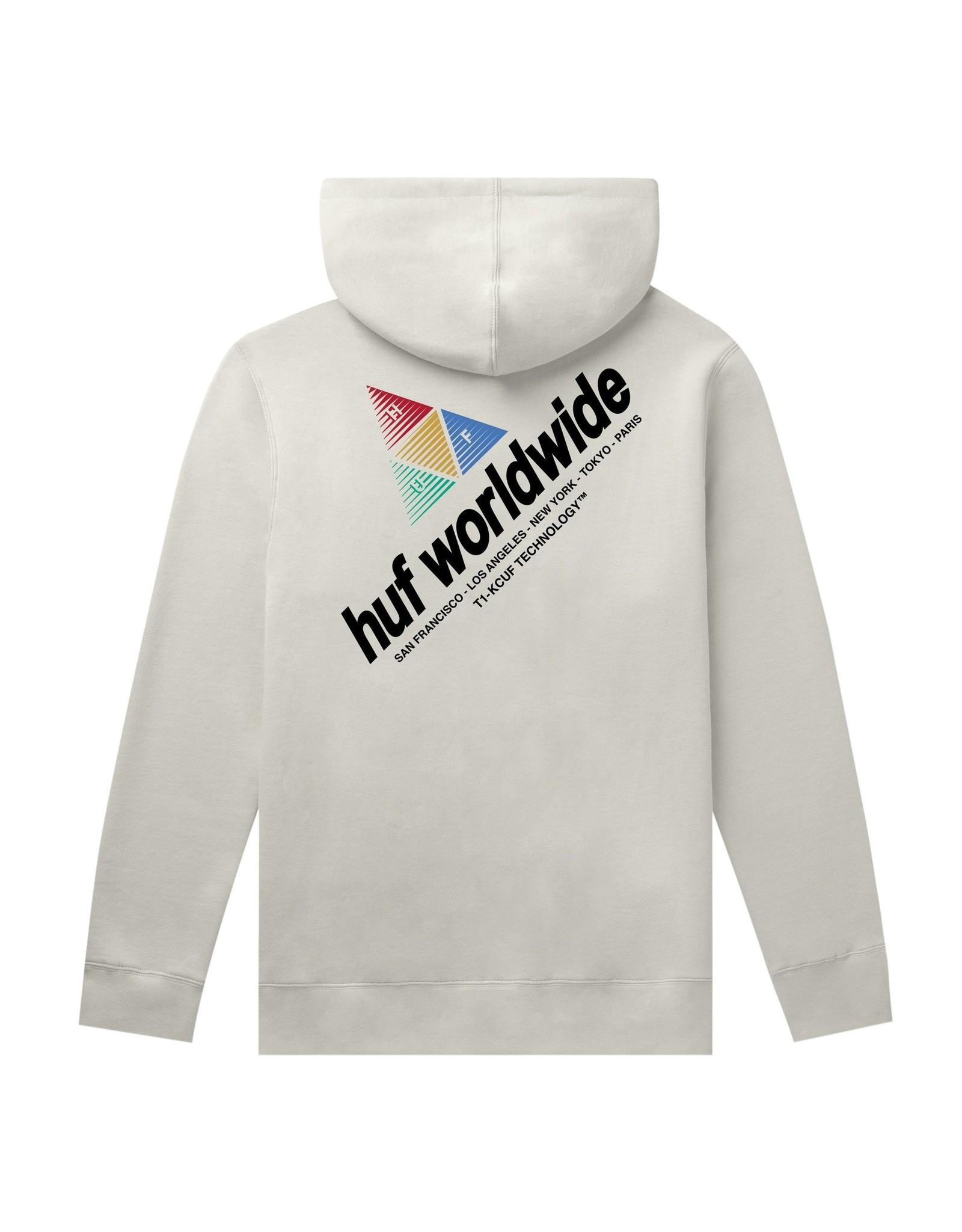 HUF Peak Sportif P/O Hoodie - Unbleached