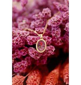 My Jewellery Ketting Wildflower Ovaal