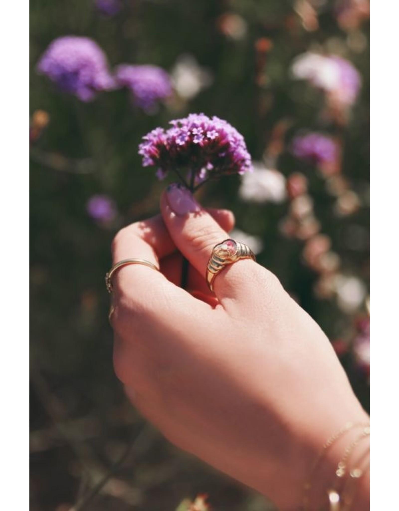 My Jewellery Ring Wild Flower Hartje Goud