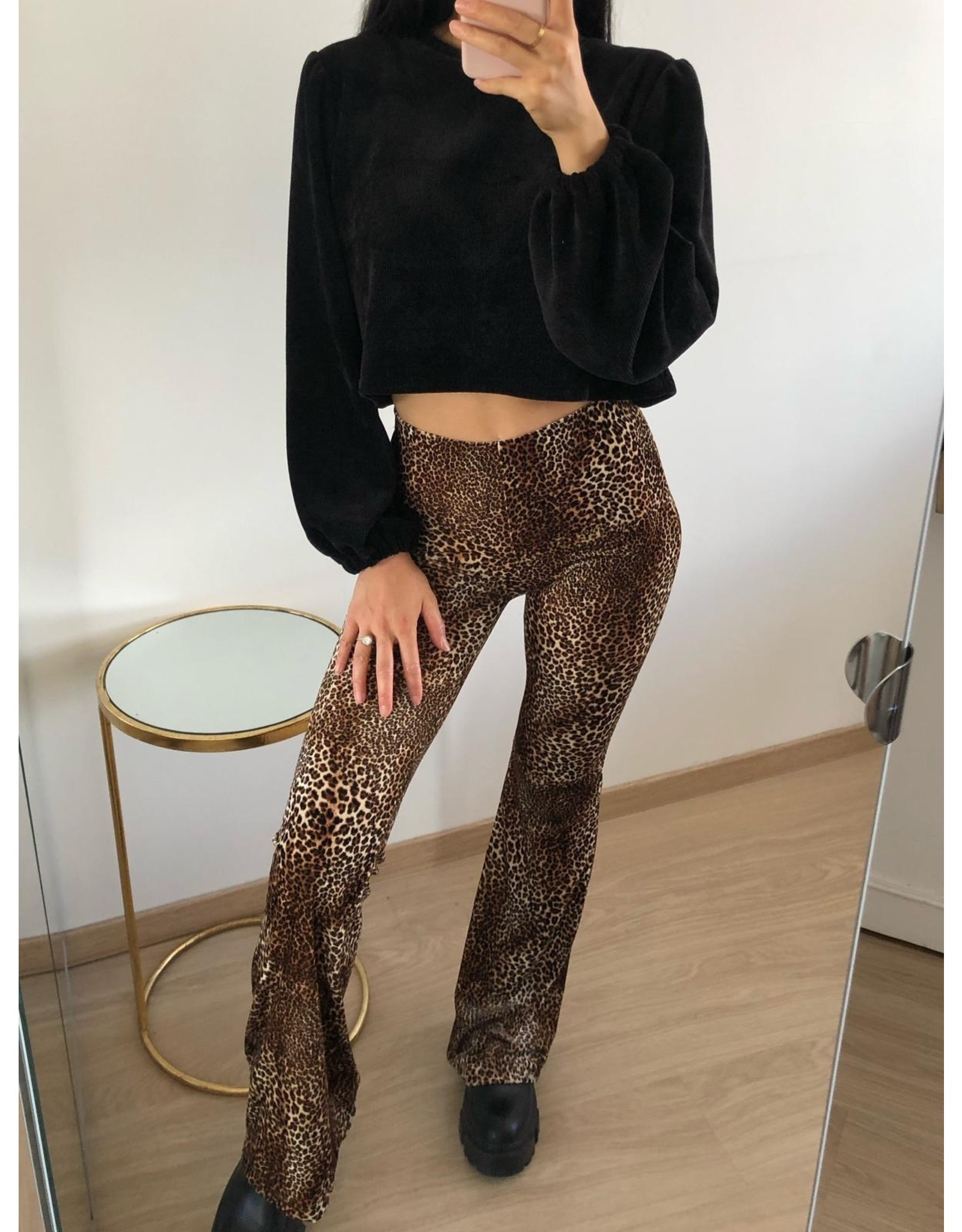 Eight Paris Mya Flair Pants Leo  M155