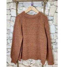 Kilky Sparkly Caramel Knit