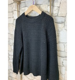 Kilky Sparkly Black Knit