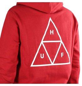 HUF Essentials TT P/O Hoodie - Rio Red