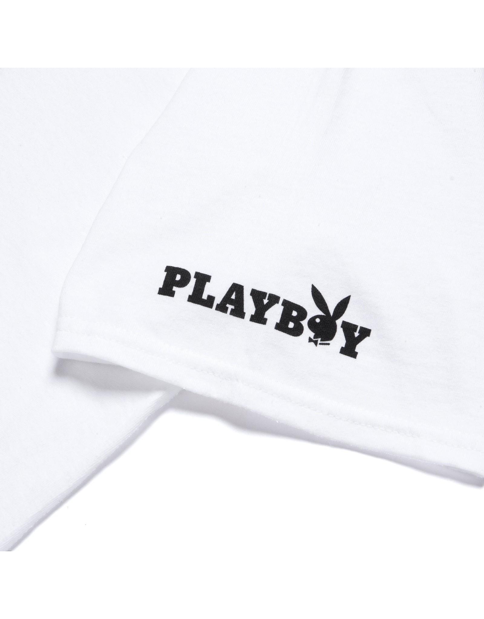 HUF Playboy Bunny Logo S/S Tee white HUF