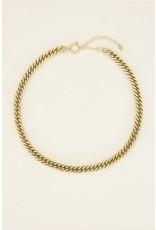 My Jewellery Schakelketting met ronde sluiting Goud 144488