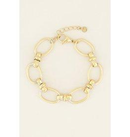 My Jewellery Armband Grove Ovale Schakels Goud146888