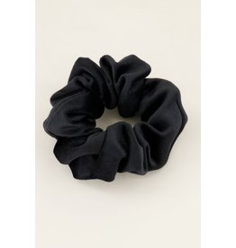 My Jewellery Scrunchie velvet Zwart