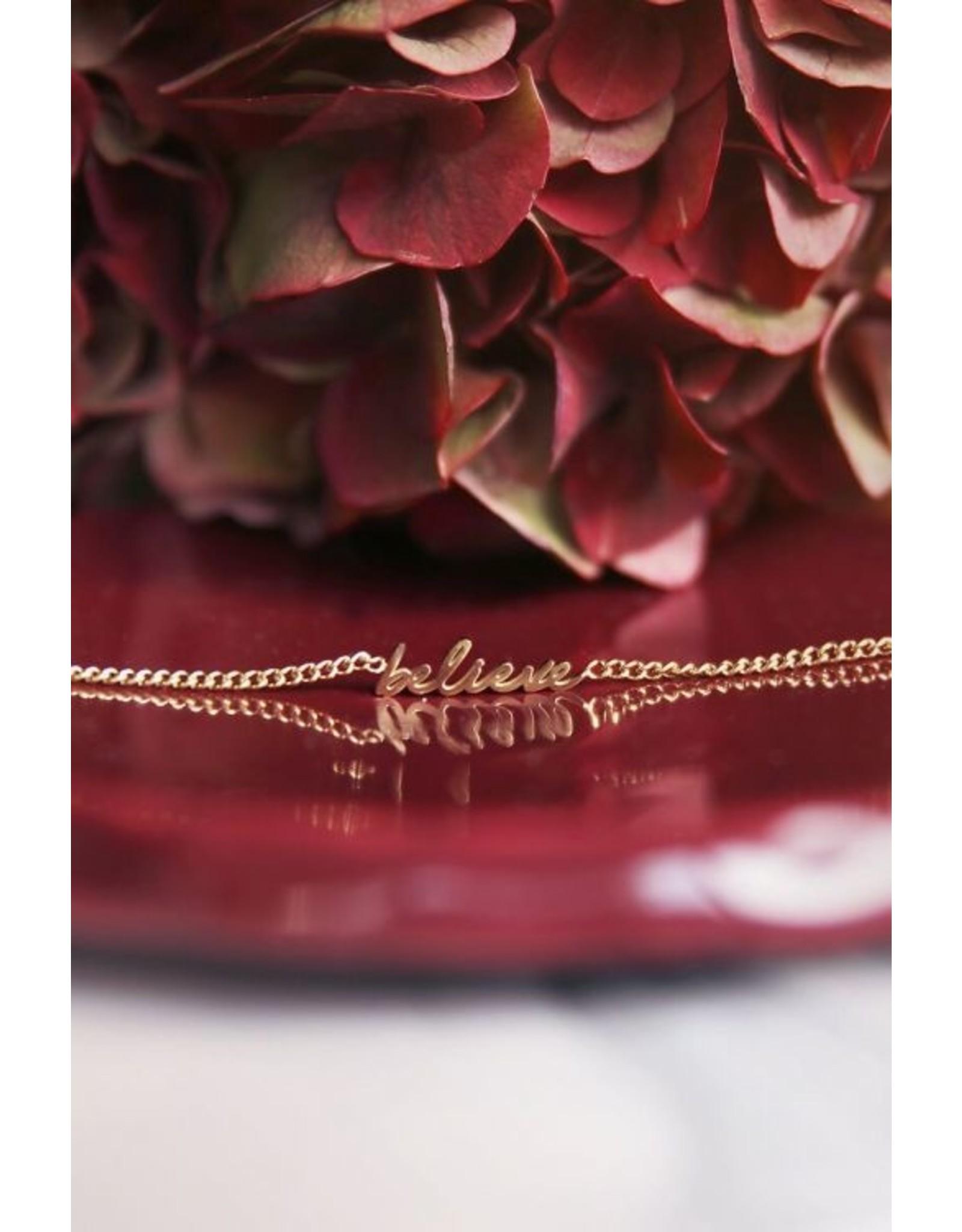 My Jewellery Armband Believe Goud
