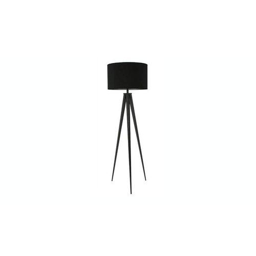 Zuiver Vloerlamp Tripod volledig zwart