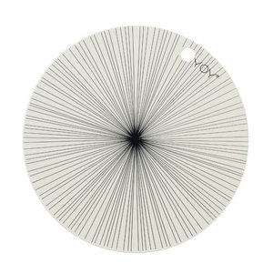 OYOY Placemats rond offwhite - 1100906