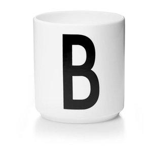 Design Letters Aj porseleinen mok - B