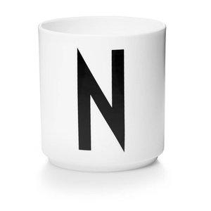 Design Letters Aj porseleinen mok - N