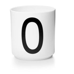 Design Letters Aj porseleinen mok - O