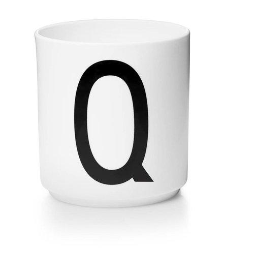 Design Letters Aj porseleinen mok - Q