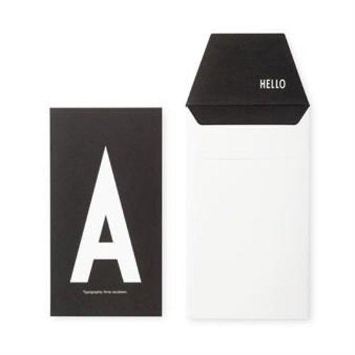 Design Letters Letter kaart - A