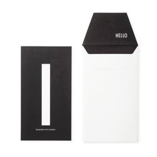 Design Letters Letter kaart - I