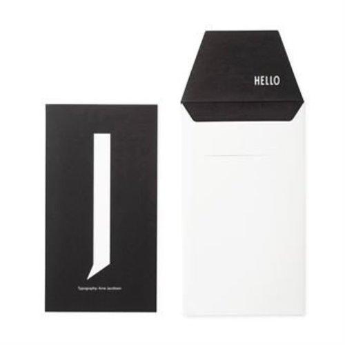 Design Letters Letter kaart -J