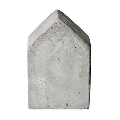 Bloomingville Huisje beton grijs L