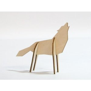 Atelier Pierre Nordic puzzel wolf S