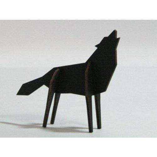 Atelier Pierre Nordic puzzel wolf S black