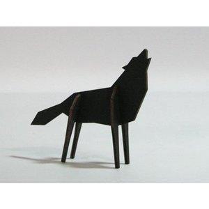 Atelier Pierre Nordic puzzel wolf M black