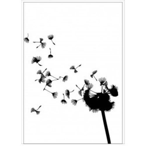 Tile Junkie Postkaart Dandelion