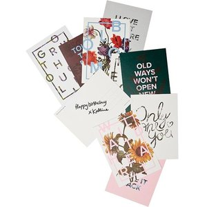 I Love My Type Postkaarten, Autumn, set van 10