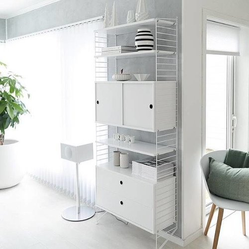 String Furniture: wandrekken & modulair kastensysteem | Nordic Living Wandrek