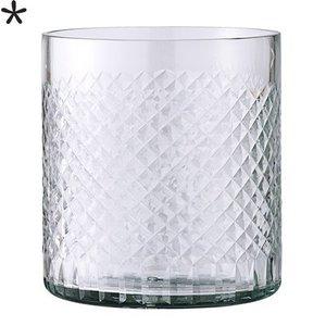 Bloomingville Waxinelichthouder helder glas