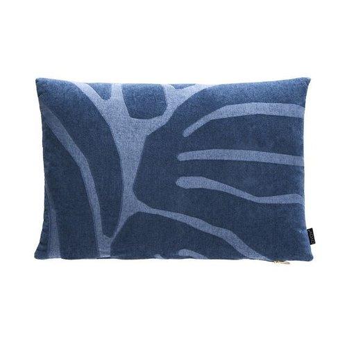 OYOY Kussen Roa Flint stone blue