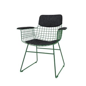 HK Living Comfort kit voor metalen draadstoel met armleuningen