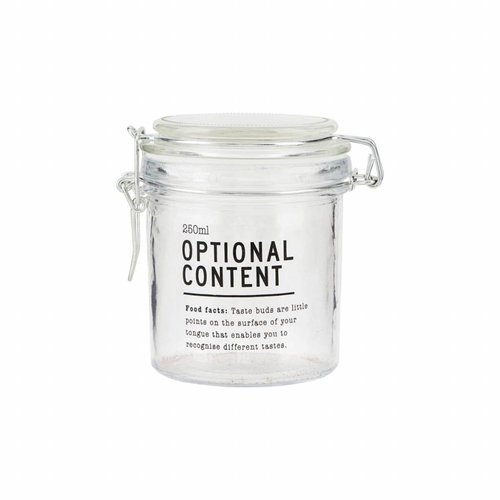 House Doctor Voorraad pot Optional content 250 ml