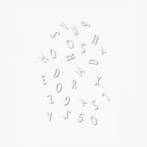 Design Letters LetterBox White