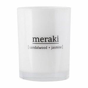 Meraki Meraki, Geurkaars Sandalwood & Jasmine, Mkap011