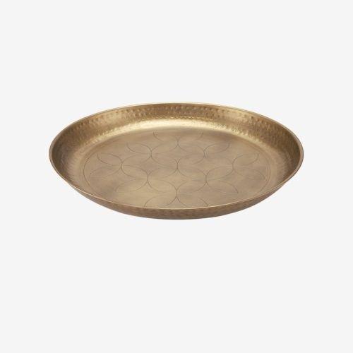 VTwonen Serveerschaal  Antique Brass 40cm