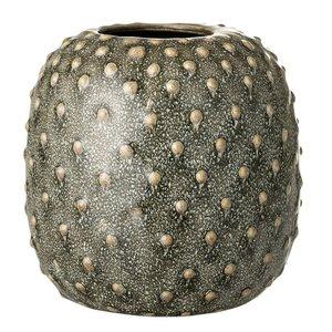 Bloomingville Vaas groen stoneware