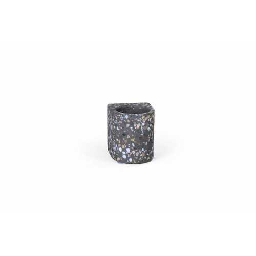Atelier Pierre Waxinelichthouder Fifty t-light - Terrazzo dark