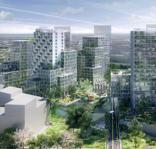 Ontwerp Bajeskwartier, Bijlmer Amsterdam