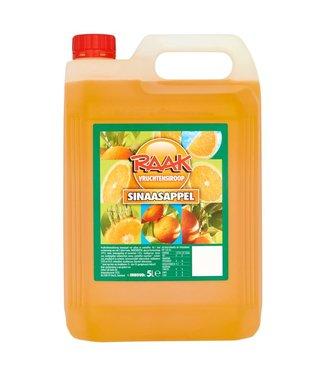 Raak Siroop Sinaasappel  4x5L