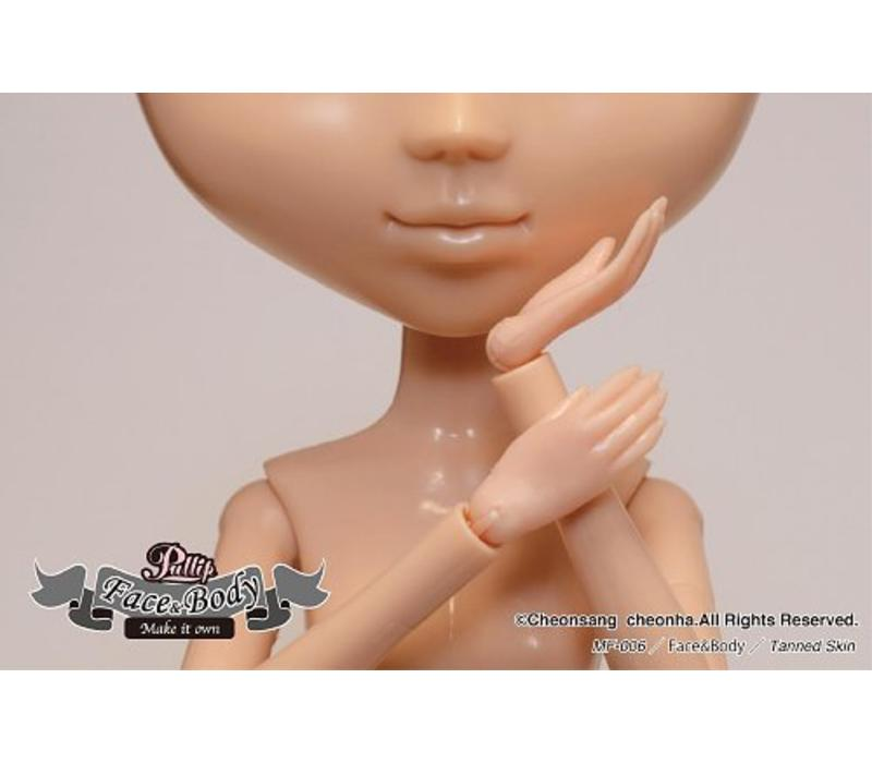 Pullip Face & Body Tanned Skin