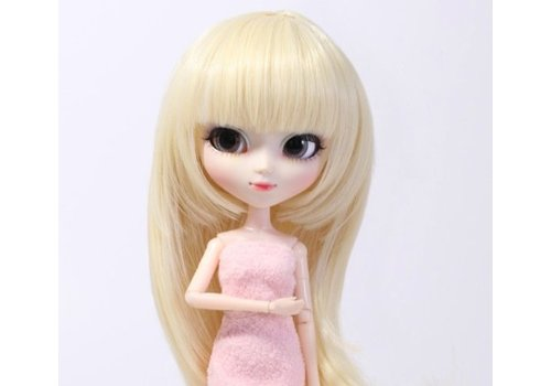 Groove Wig Selection Semi-Long Hair (Platinum Gold)