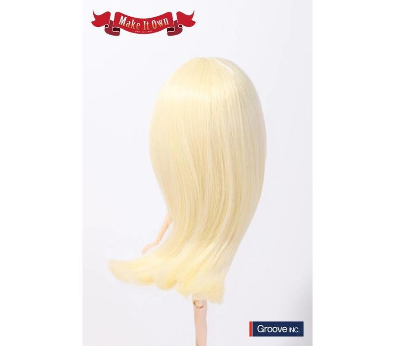 Wig Selection Semi-Long Hair (Platinum Gold)