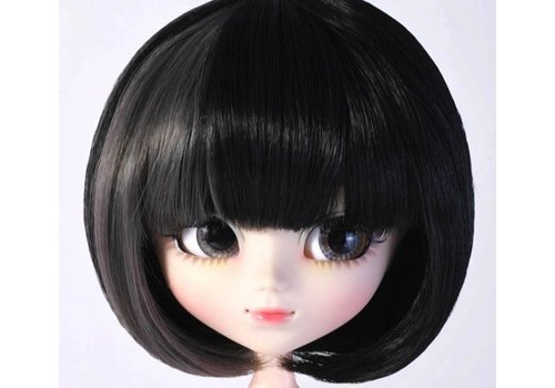Groove Wig Selection Bob (Black and Grey wide Mesh)