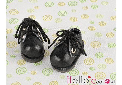 Coolcat Shoes Mini 2 Holes Black