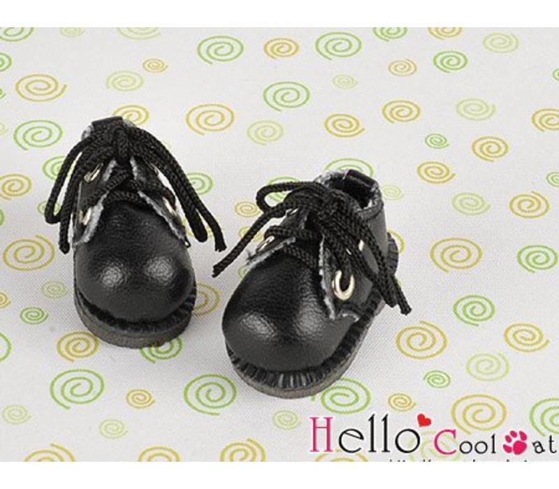 Shoes Mini 2 Holes Black